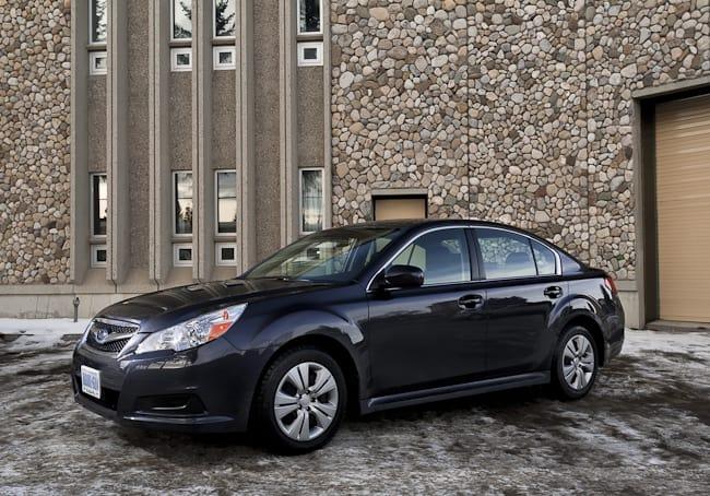 2011 Subaru Legacy 2.5i Review