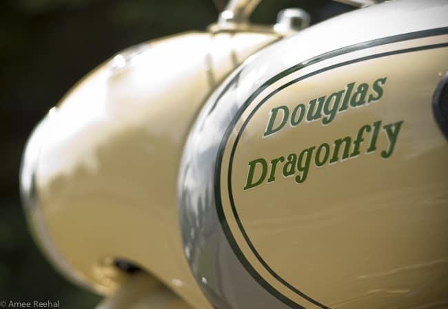 1956 Douglas Dragonfly gas tank