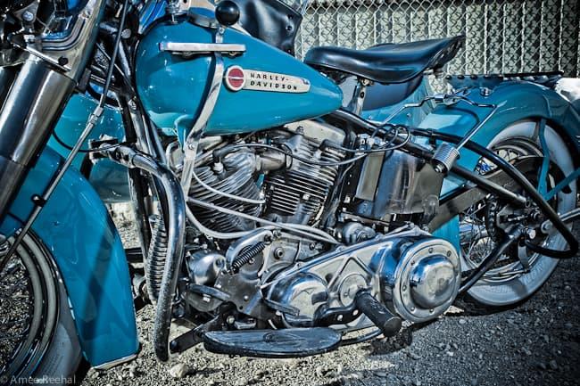 Harley-Davidson-Panhead-bike-engine