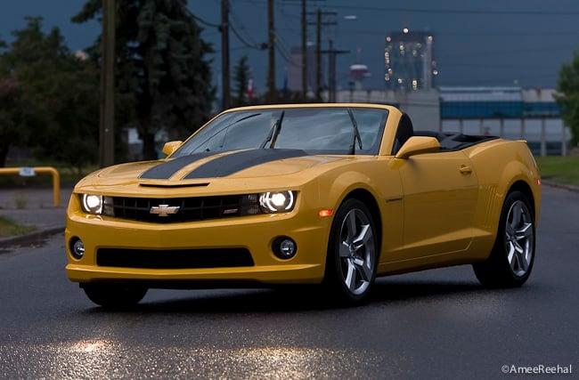 2011 Chevrolet Camaro SS Convertible Review