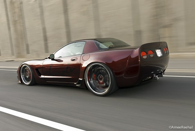 Mark of the Beast: A Diabolical 2002 Corvette Z06 by Toyz Autoart