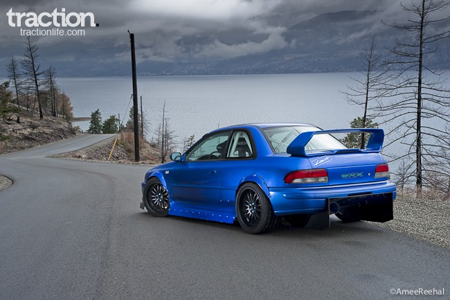 GC8 Great: An Insane Street-Legal 1998 Subaru Impreza 2 5 RS Coupe