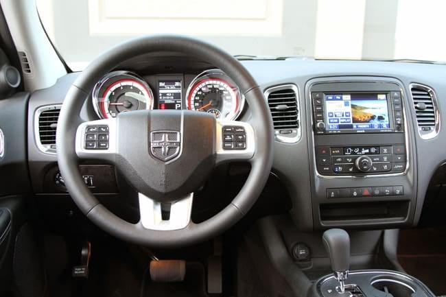 2011 Dodge Durango Citadel Review dash