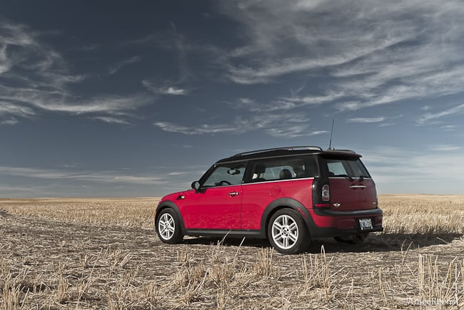 2011 MINI Cooper Clubman Review rear