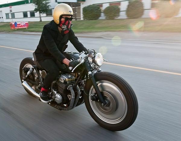Punk\'d! A Badass 1977 Honda CB750F2 Brat Bike