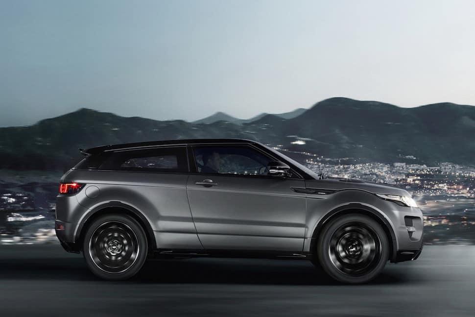 Victoria Beckham Range Rover Evoque Special Edition city