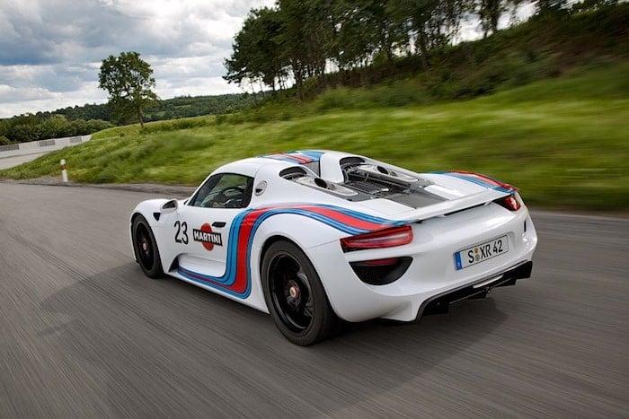 2013 Porsche 918 Spyder Martini Racing Prototype