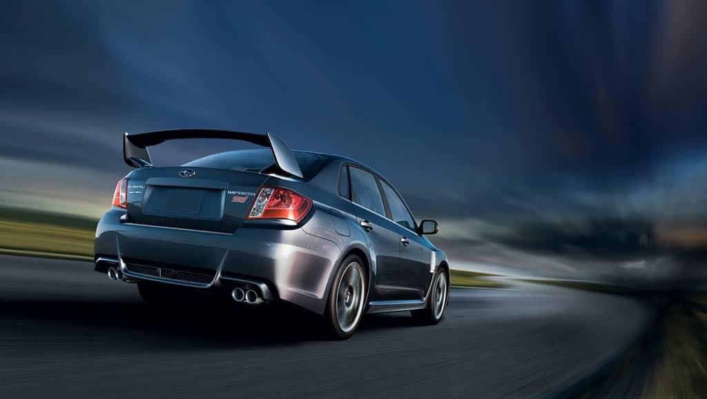 2013 Subaru Impreza WRX STI taillights