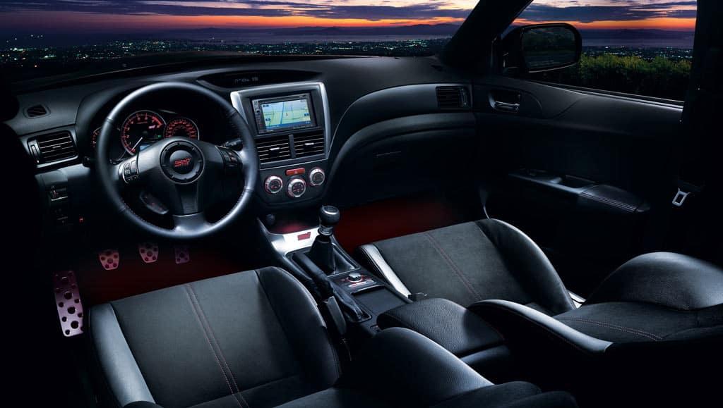 2013 Subaru Impreza WRX STI interior