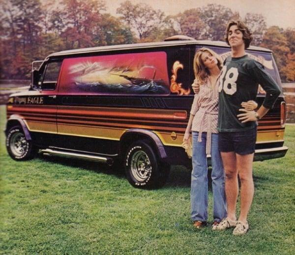 1970s Custom Van