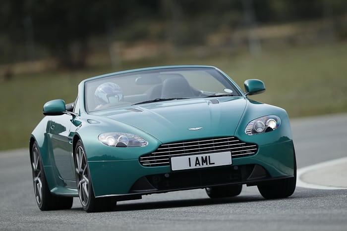 First Drive > 2012 Aston Martin V8 Vantage S