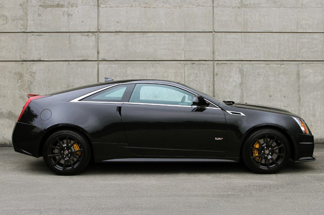 2013 Cadillac CTS-V Coupe Review