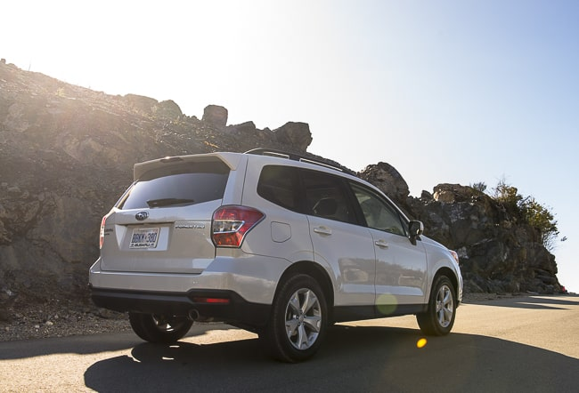 2014-Subaru-Forester rear white