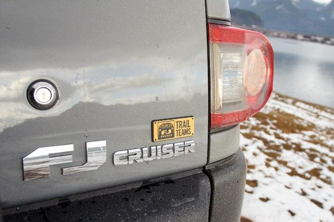 2013 Toyota FJ Cruiser Trail Teams Special Edition
