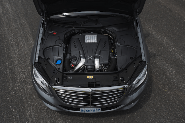 2014 Mercedes-Benz S-Class Review engine