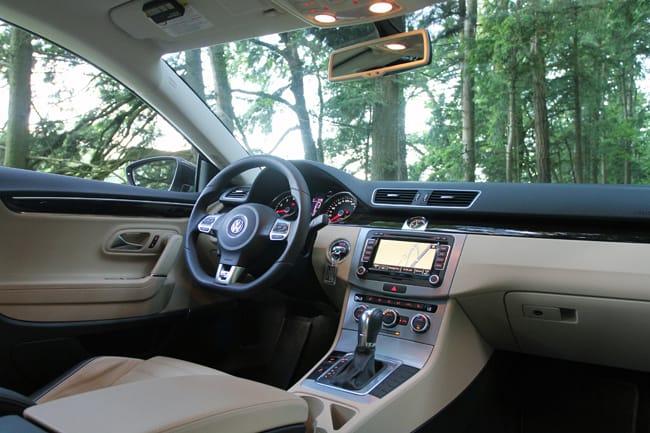 2013 Volkswagen CC Review interior