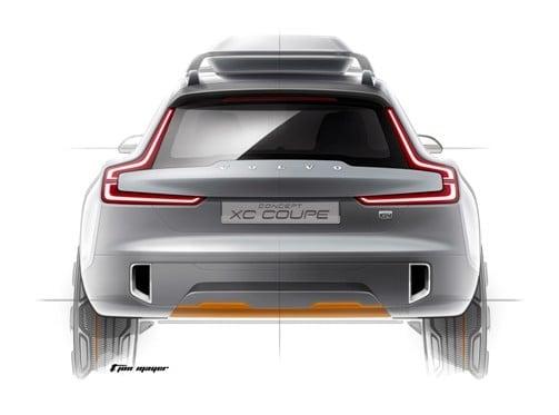 Volvo Concept XC Coupé rendering