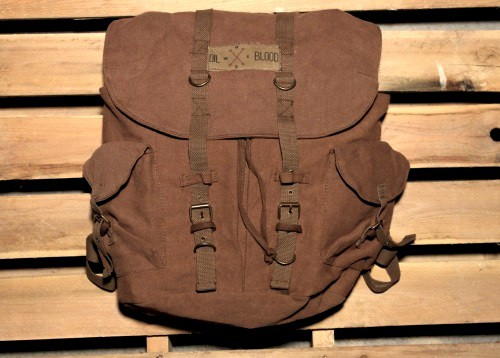 Adventure Backpack by Oil and Blood