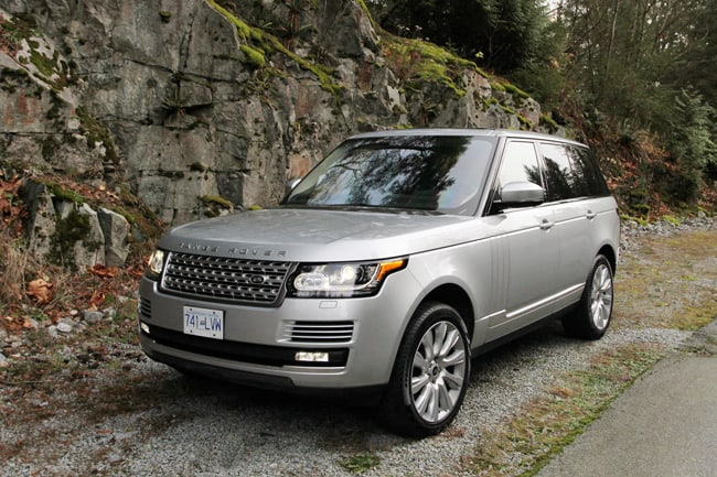 2014 Range Rover Supercharged Review front