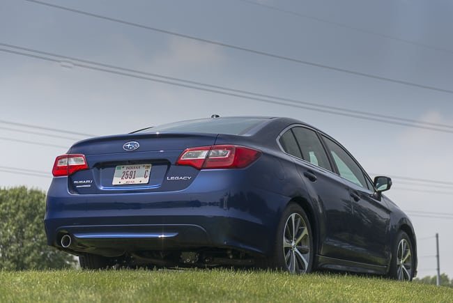 2015-subaru-legacy-blue-rear