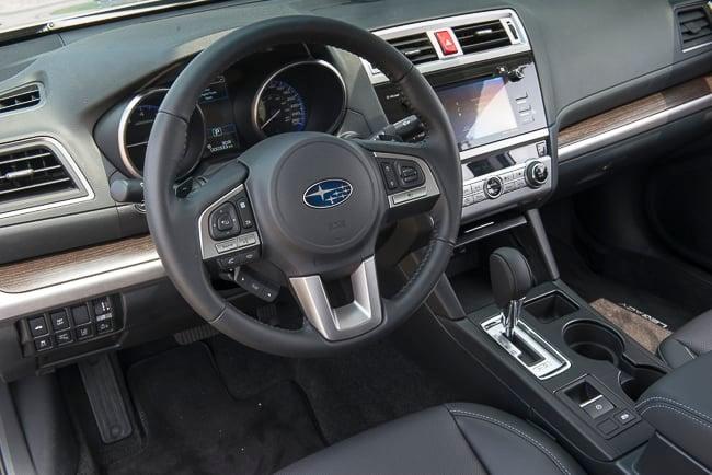 2015 Subaru Legacy interior