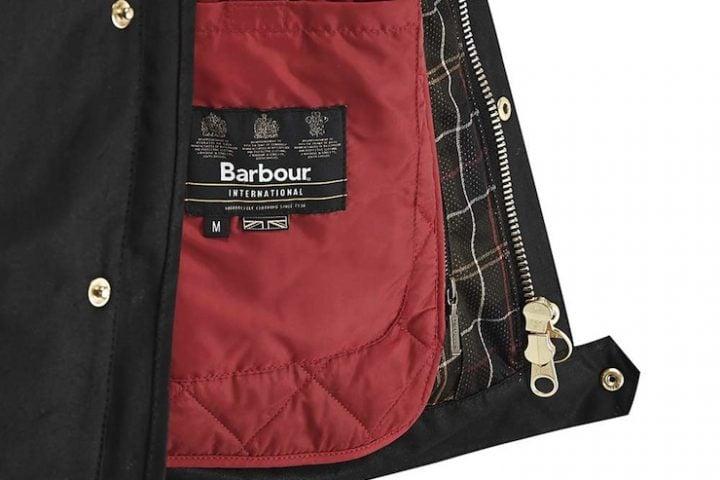 The Barbour International Short Motorcycle Jacket