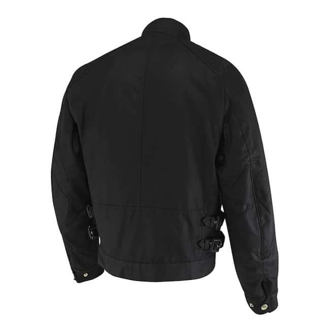 Barbour International Short Motorcycle Jacket back
