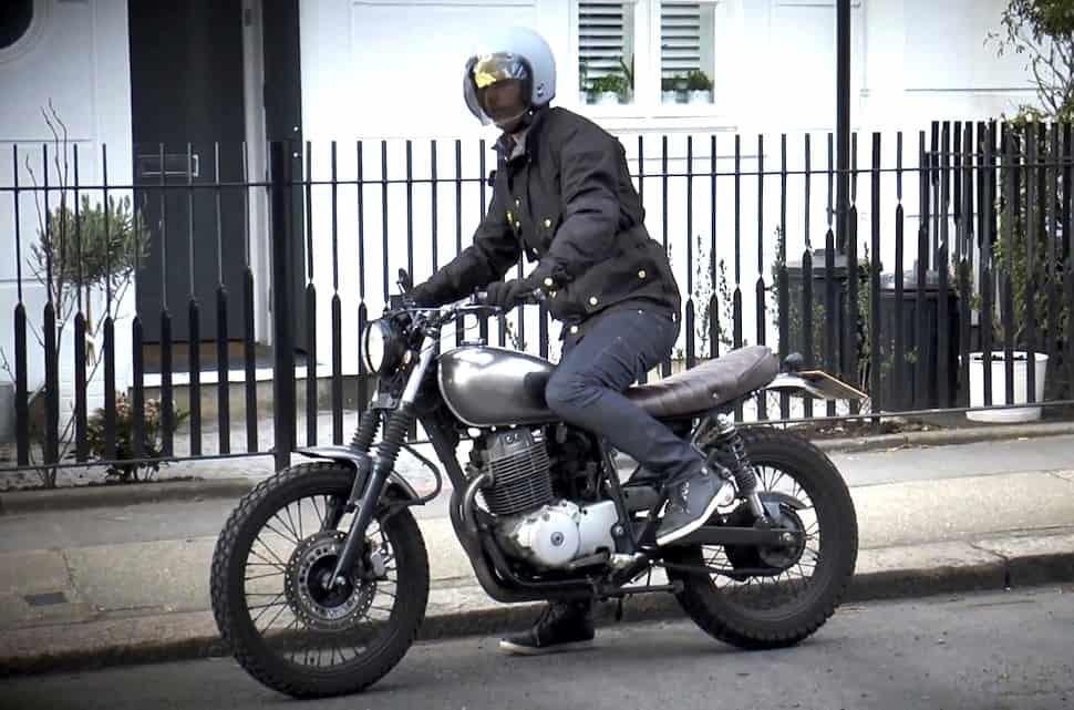 Barbour International Short Motorcycle Jacket