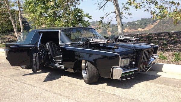 1965 Chrysler Imperial Green Hornet Black Beauty profile