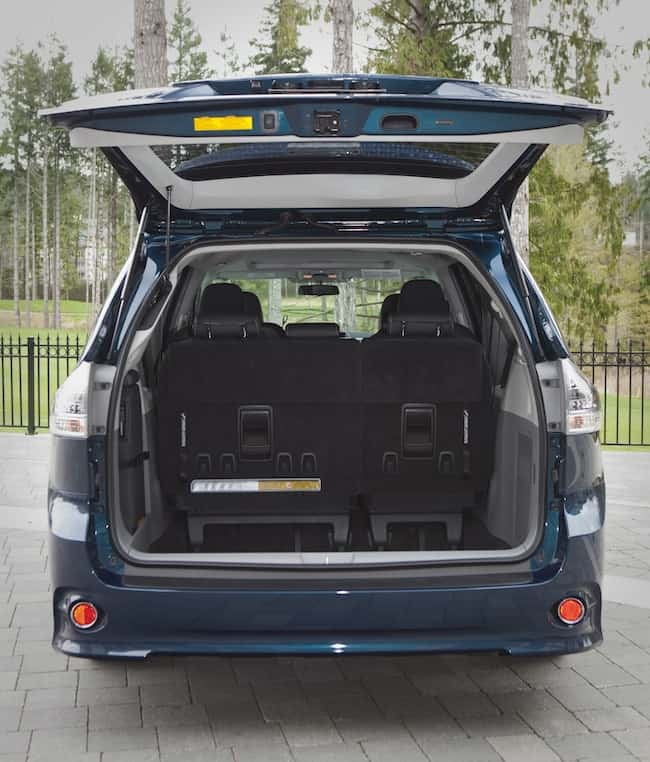 2014 Toyota Sienna Review rear