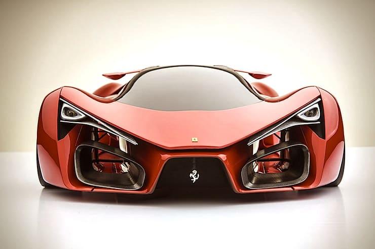 Ferrari-F80-Concept front grill
