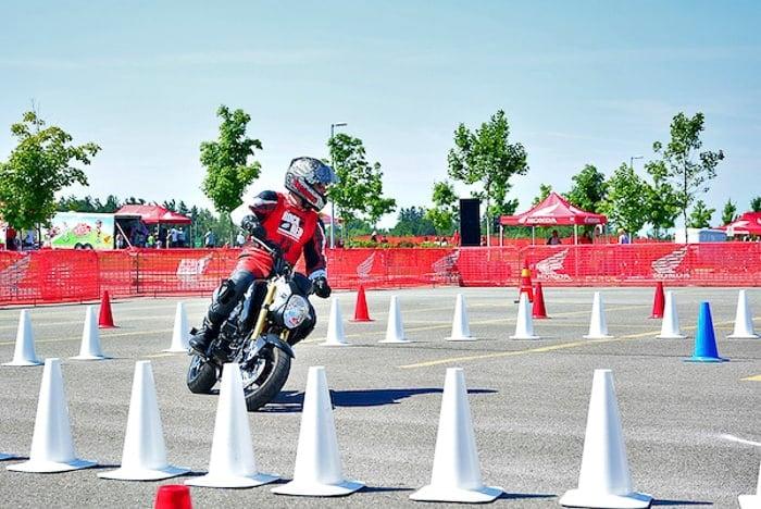 Honda Gymkhana Rocking the Red