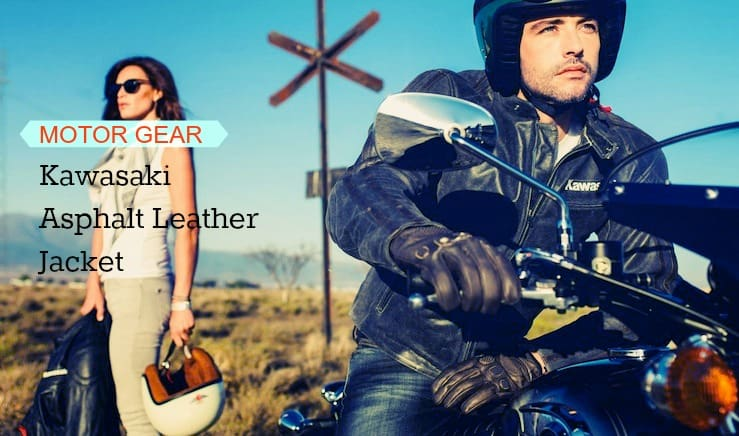 Kawasaki Asphalt S Leather Jacket