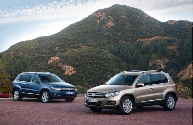 2015 Volkswagen Tiguan Review front