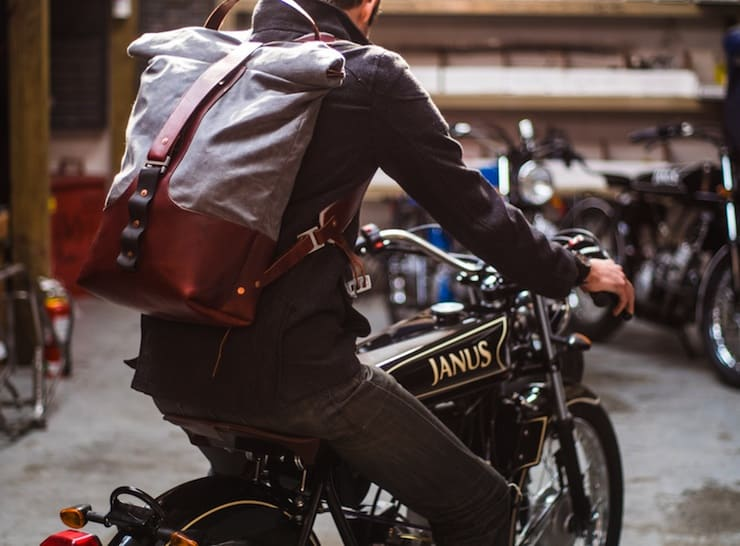 janus armoured moto rucksack upgrade  traditional motorcycle bag