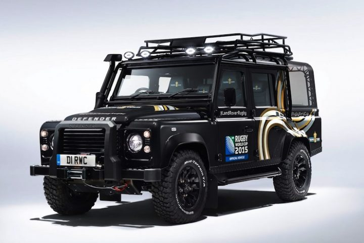 Rugby World Cup 2015  Land Rover Defender Revealed