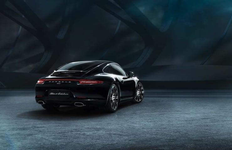 2016 Porsche 911 Carrera Black Edition rear