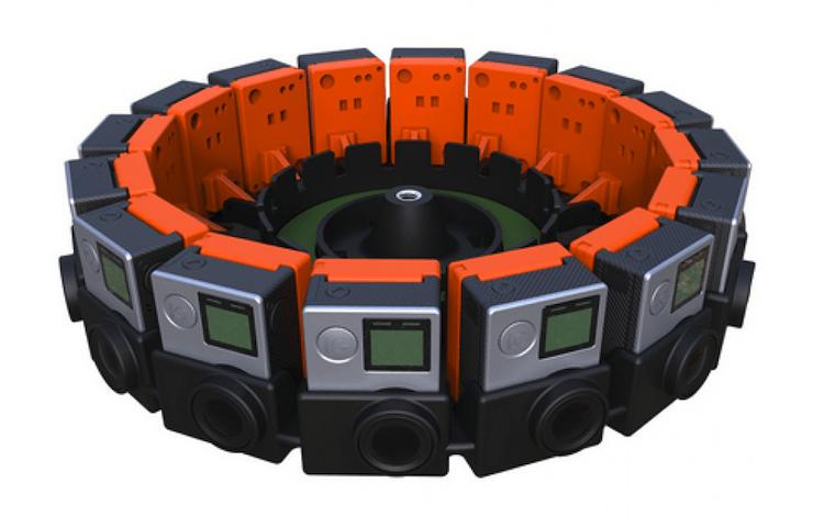 GoPro 360° Camera Array