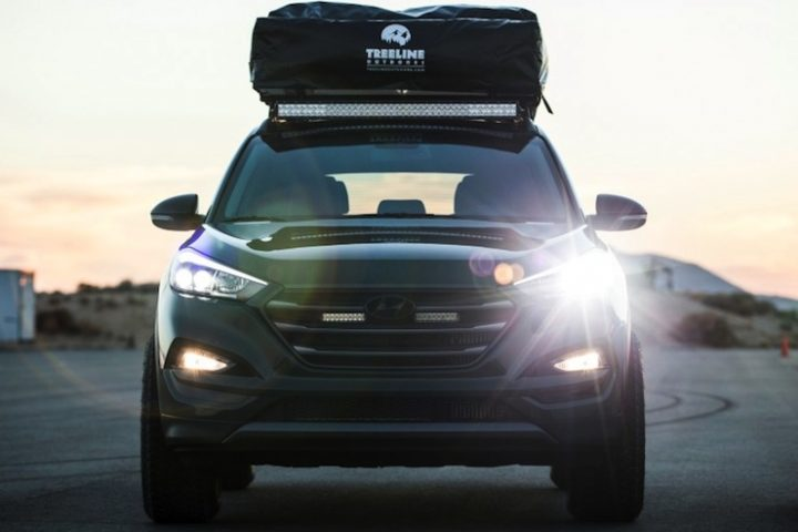 Hyundai's Tucson Adventuremobile for Weekend Adventurers