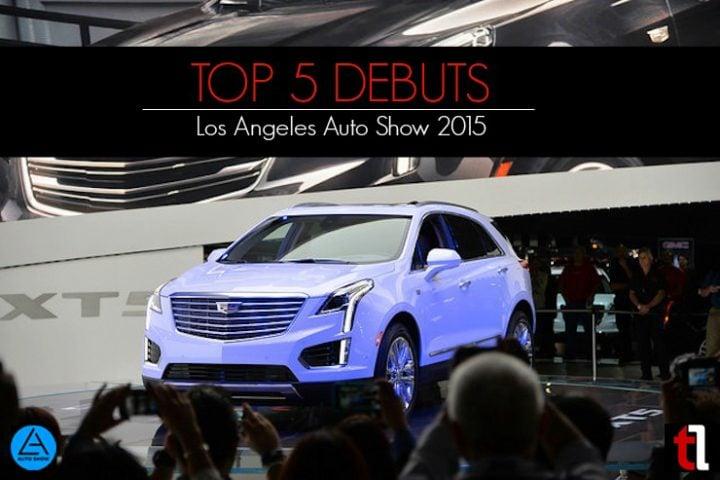 Top 5 Debuts from LA Auto Show 2015