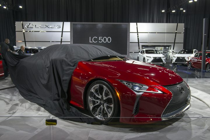 Lexus debuts  2017 LC 500 luxury coupe inspired by LF-LC Concept