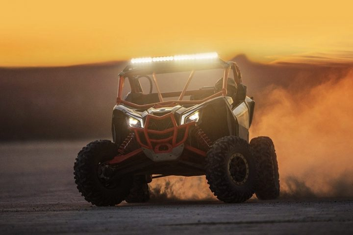 The New Can-Am Maverick X3: Low-slung, Ready to rip