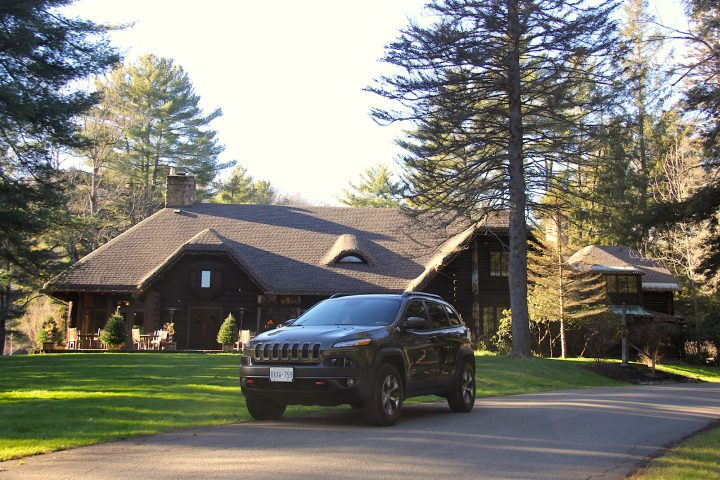 A Trip to The Lodge at Glendorn in the Trail Rated 2016 Jeep Cherokee Trailhawk