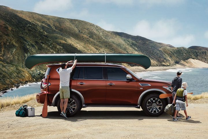Quick Look: New 2017 Nissan Armada Blends Utility, Comfort and Luxury