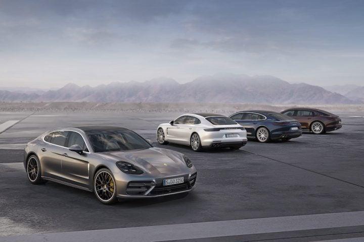 Porsche to debut new 330-hp V6 Panamera 4 and upgraded Panamera Executive at 2016 LA Auto Show