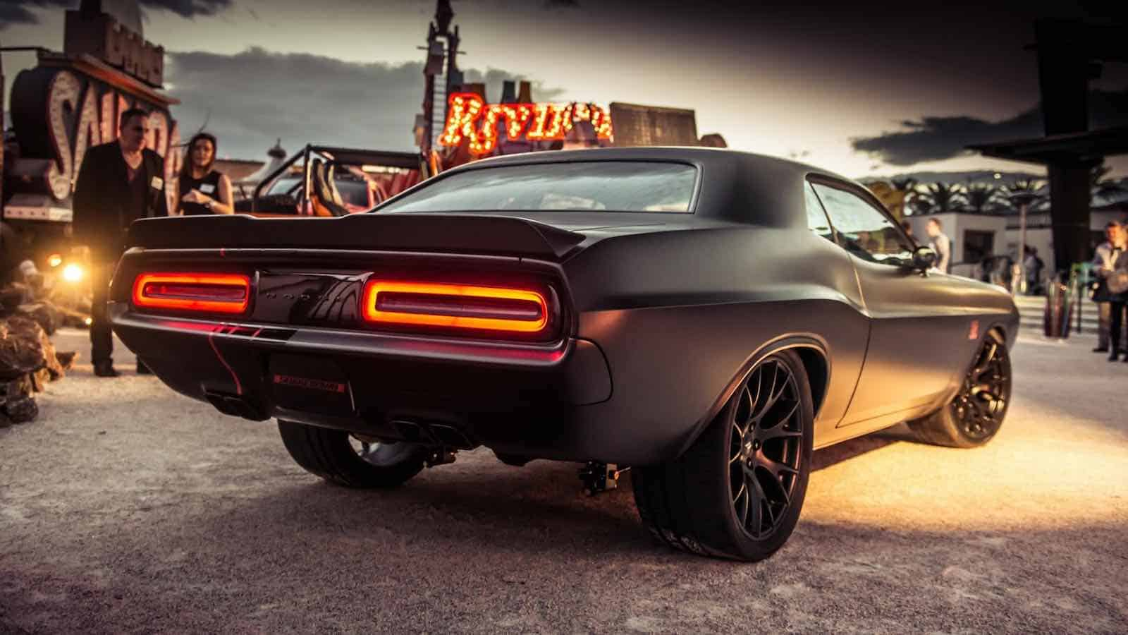 Dodge Shakedown Challenger: Old-school Swag with Modern Muscle
