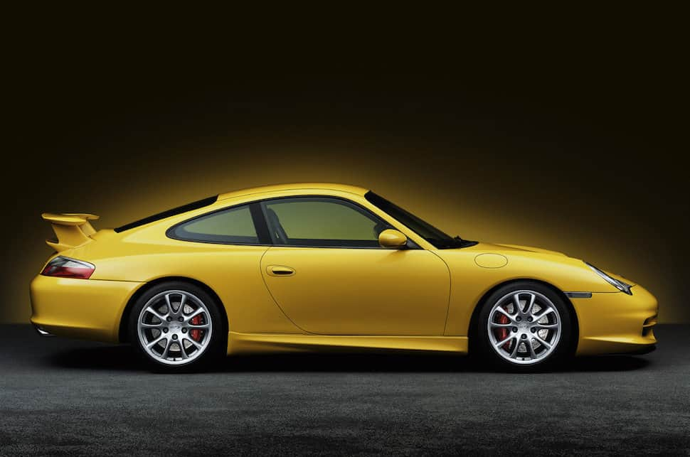 2001 911 Carrera 4 Coupe