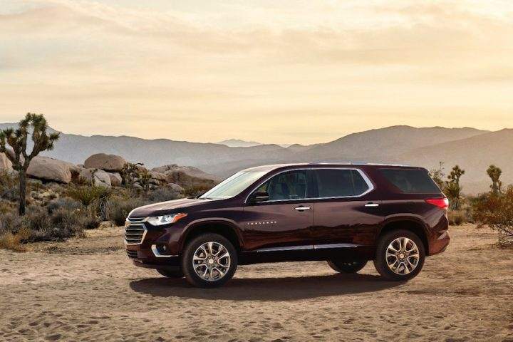 All-new 2018 Chevrolet Traverse Debuts at Detroit Auto Show 2017
