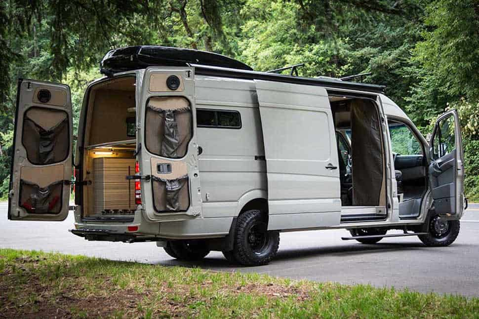 Sprinter Van Camper >> Valhalla 4x4 Camper Not Your Typical Sprinter Van
