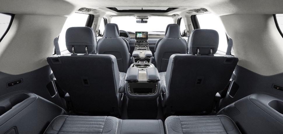2018 Lincoln Navigator rear cargo